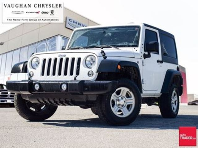 2016 JEEP WRANGLER Sport in Woodbridge, Ontario