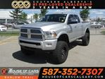 2014 Dodge RAM 3500 Longhorn Limited / Navi /Back Up Camera / Leather in Calgary, Alberta