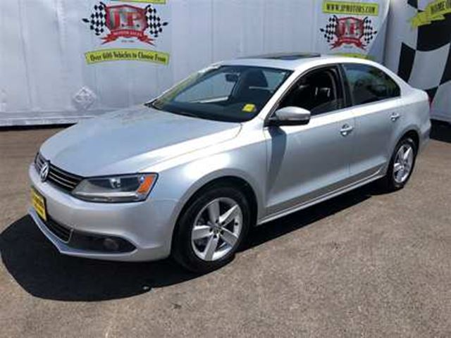 2013 VOLKSWAGEN JETTA Comfortline, Auto, Sunroof, Heated Seats, Diesel, in Burlington, Ontario