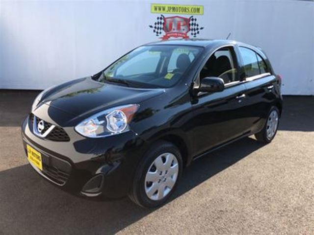 2017 NISSAN MICRA S, Automatic, Bluetooth, Only 6,000km in Burlington, Ontario