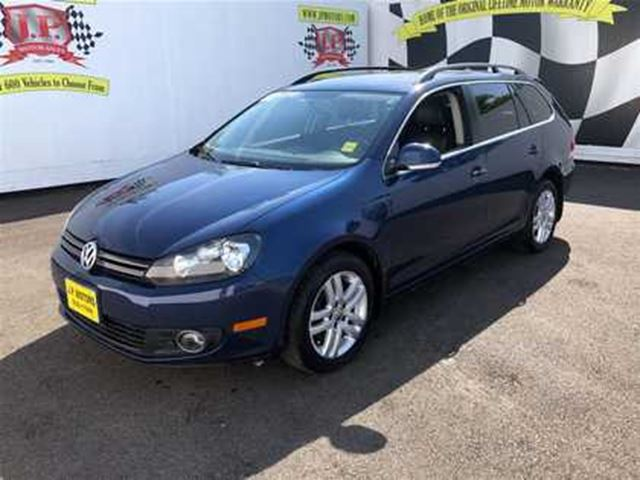2011 VOLKSWAGEN GOLF Comfortline, Auto, Wagon, Navi, Leather, Diesel, in Burlington, Ontario