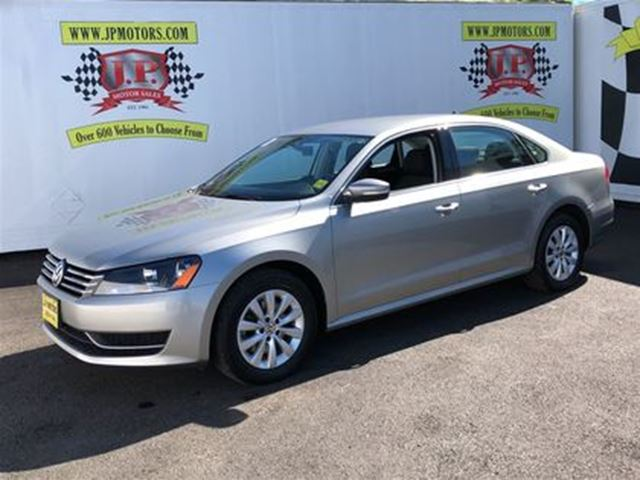 2014 VOLKSWAGEN PASSAT Trendline, Auto, Heated Seats, 46,000km in Burlington, Ontario