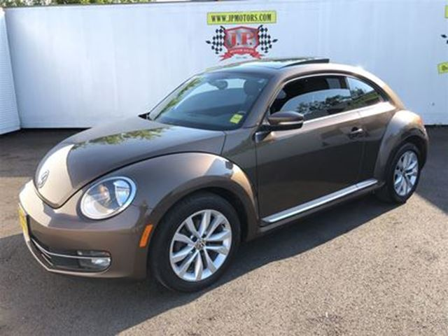 2014 VOLKSWAGEN NEW BEETLE  Comfortline, Automatic, Sunroof, Diesel, in Burlington, Ontario