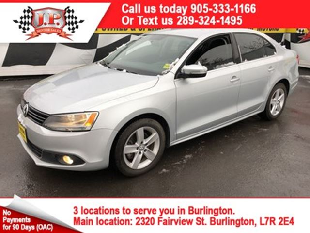 2011 VOLKSWAGEN JETTA Comfortline, Automatic, Bluetooth, Diesel in Burlington, Ontario