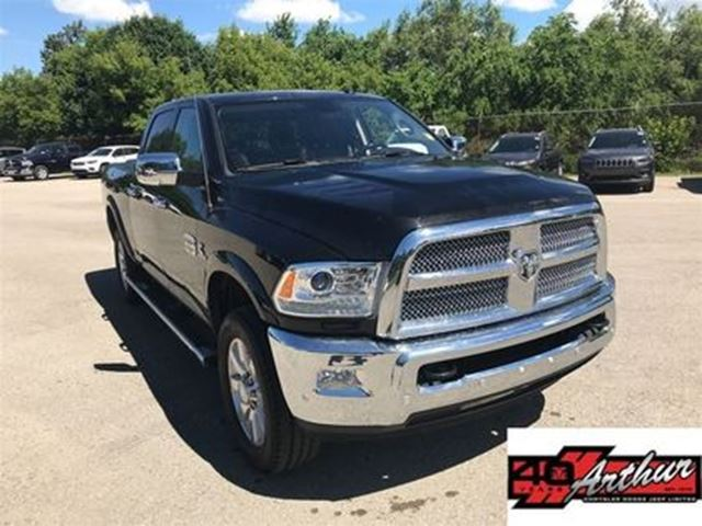 2017 DODGE RAM 2500 Longhorn Crew Cab 4x4..Cummins With RamBox in Arthur, Ontario