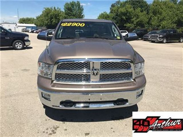 2010 DODGE RAM 1500 Laramie Quad Cab 4x4...Very Clean in Arthur, Ontario