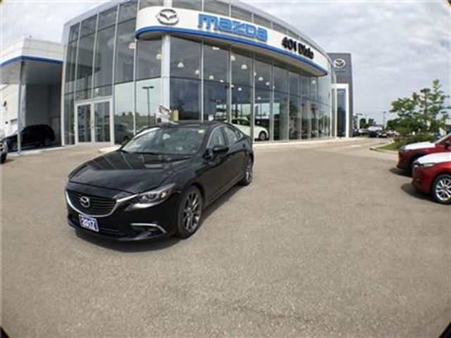 2017 MAZDA MAZDA6 GT,1.9% FINANCE AVAILABLE, ONE OWNER, NO ACCIDENTS in Mississauga, Ontario