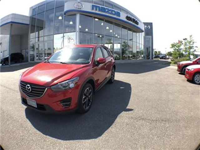 2016 MAZDA CX-5 GT, ONE OWNER, NO ACCIDENTS, 1.9% AVAILABLE in Mississauga, Ontario