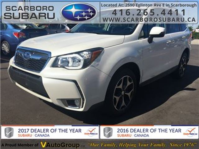 2015 SUBARU Forester 2.0XT LTD TECH PKG,  FROM 1.9% FINANCING AVAILABLE in Scarborough, Ontario