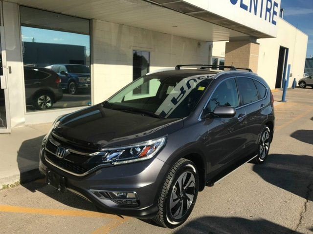 2016 HONDA CR-V Touring 4WD*Accident Free/Local Trade* in Winnipeg, Manitoba