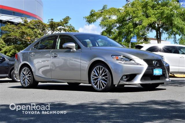 2016 LEXUS IS 300           in Richmond, British Columbia