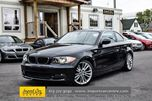 2011 BMW 1 Series 128i SPORT PKG 6 SPEED LOW KMS!! in Ottawa, Ontario