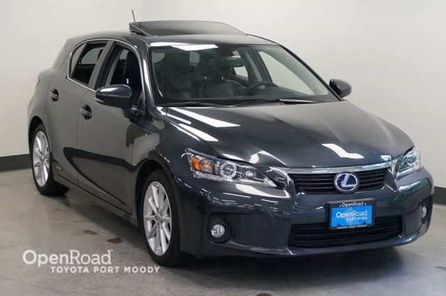 2011 LEXUS CT 200H Hybrid  Backup Cam  A/C in Port Moody, British Columbia