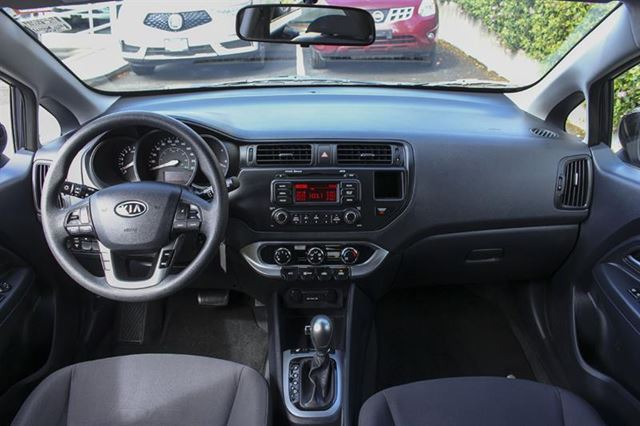 2013 KIA RIO Hatchback w Navigation in Victoria, British Columbia