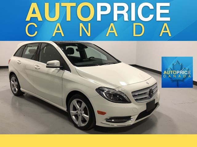 2014 MERCEDES-BENZ B-CLASS Sports Tourer NAVIGATION|PANOROOF|LEATHER in Mississauga, Ontario