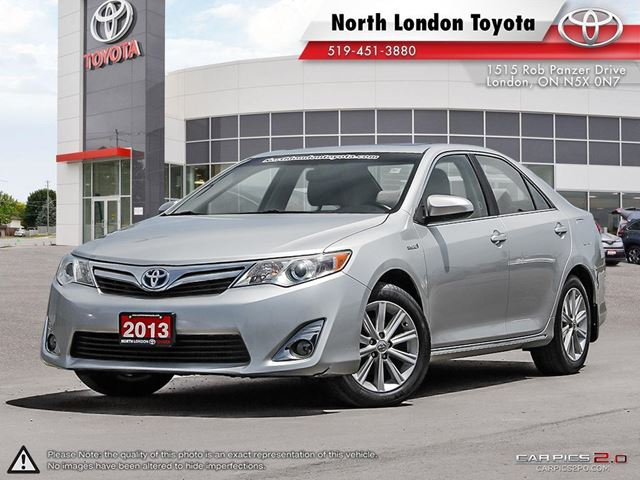 2013 TOYOTA CAMRY Hybrid XLE One Owner, Serviced by Toyota Dealers, No Accidents in London, Ontario