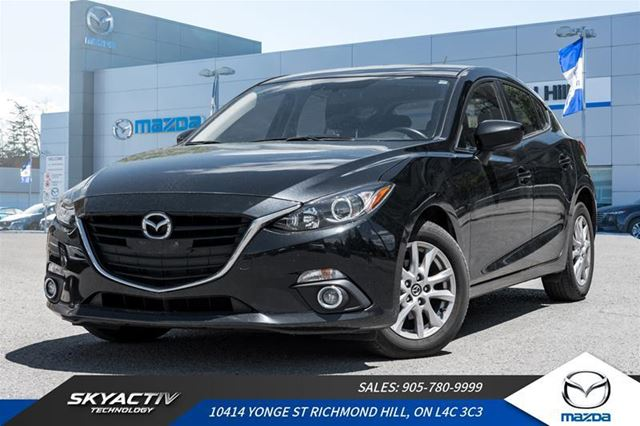 2014 MAZDA MAZDA3 GS-SKY ALLOYS*ACCIDENT FREE*ONE OWNER in Richmond Hill, Ontario