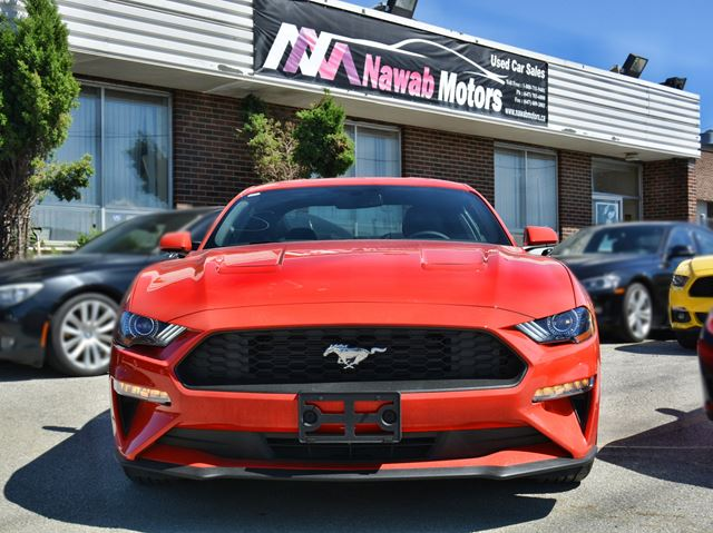 2018 FORD MUSTANG EcoBoost in Brampton, Ontario