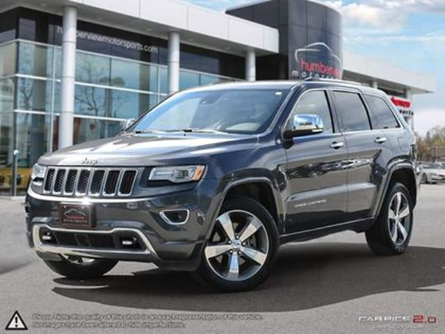 2015 JEEP Grand Cherokee OVERLAND   CAR-PROOF CLEAN   ONE OWNER in Mississauga, Ontario