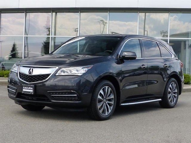 2014 ACURA MDX Navigation at *Acura Certified* in North Vancouver, British Columbia