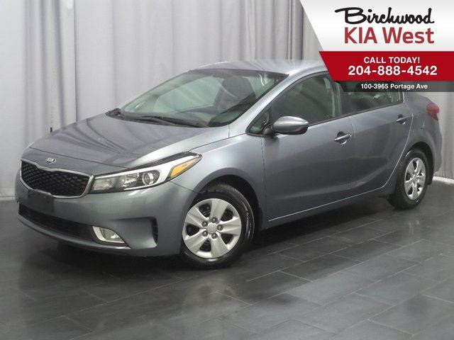 2017 KIA FORTE LX+ Apple Car Play/Android Auto! Heated Seates in Winnipeg, Manitoba