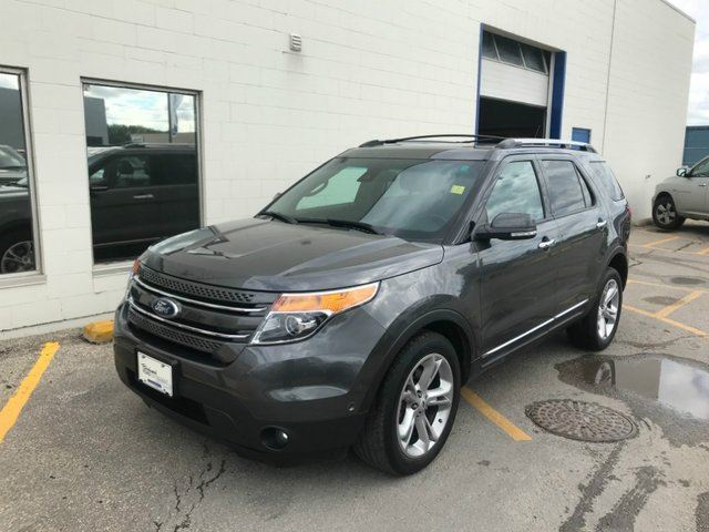 2015 FORD EXPLORER Limited 4WD*Accident Free/Local Trade* in Winnipeg, Manitoba