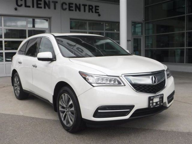 2016 ACURA MDX Technology Package in Coquitlam, British Columbia