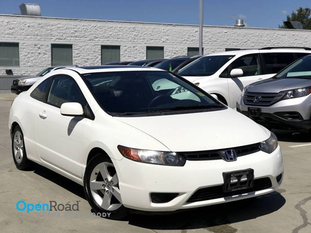 2007 HONDA CIVIC EX M/T Coupe No Accident Local Low KMs CD Playe in Port Moody, British Columbia