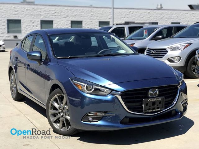 2018 MAZDA MAZDA3 GT Sdn A/T No Accident Local One Owner Bluetoot in Port Moody, British Columbia
