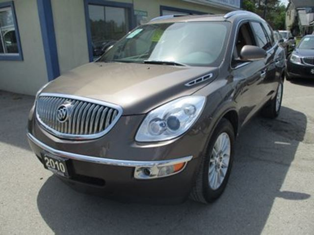 2010 BUICK ENCLAVE 'GREAT VALUE' CXL MODEL 7 PASSENGER 3.6L - V6.. in Bradford, Ontario