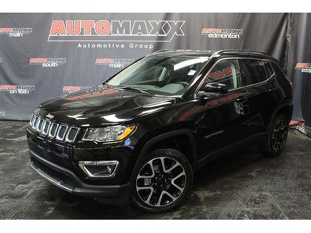 2017 JEEP COMPASS Limited w/Leather/Nav! in Calgary, Alberta