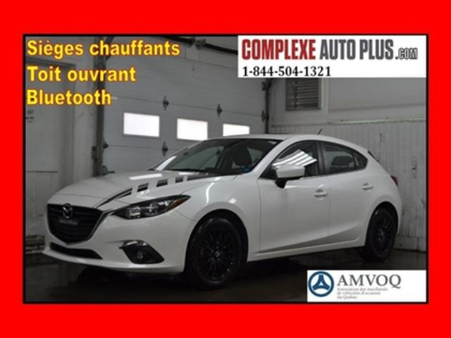 2014 MAZDA MAZDA3 Sport GS-Sky *Toit ouvrant,Mags noir,Beau look! in Saint-Jerome, Quebec