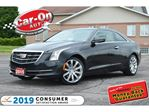 2015 Cadillac ATS 2.0T AWD LEATHER SUNROOF REAR CAM HTD SEATS LOADED in Ottawa, Ontario