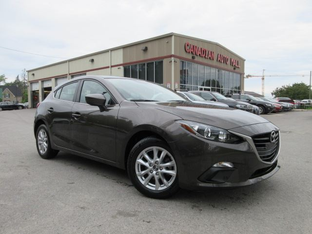 2015 Mazda MAZDA3 GS, HTD. SEATS, BT, CAMERA, 21K! in Stittsville, Ontario