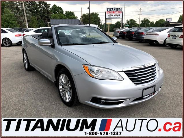 2011 CHRYSLER 200 Limited+Convertible Hard Top+Leather Heated Seats+ in London, Ontario