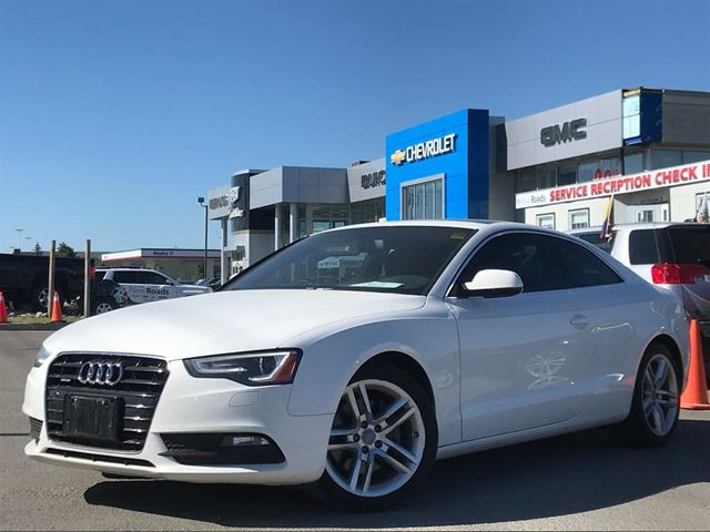 2013 Audi A5 2.0T AWD, NAV, HEATED SEATS, SUNROOF, PARKING SENSORS in Newmarket, Ontario