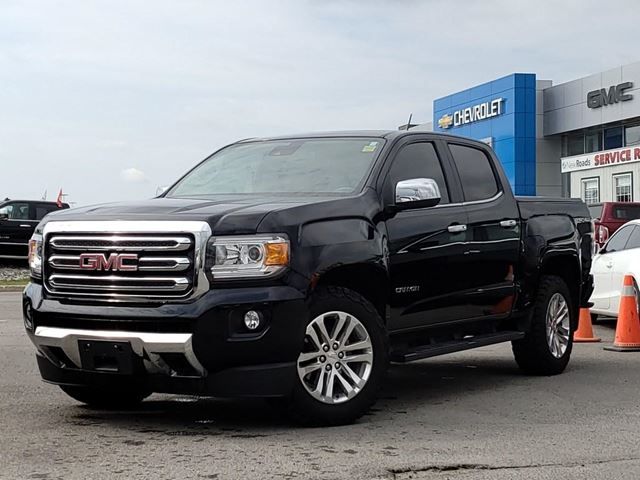 2016 GMC Canyon SLT CREW CAB, 4x4, NAV, ONE OWNER, NO ACCIDENTS in Newmarket, Ontario