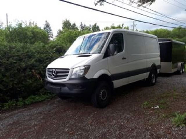 2017 MERCEDES-BENZ Sprinter 2500 , Standard Roof 144, V6 Diesel + Many Added Equipement in Mississauga, Ontario