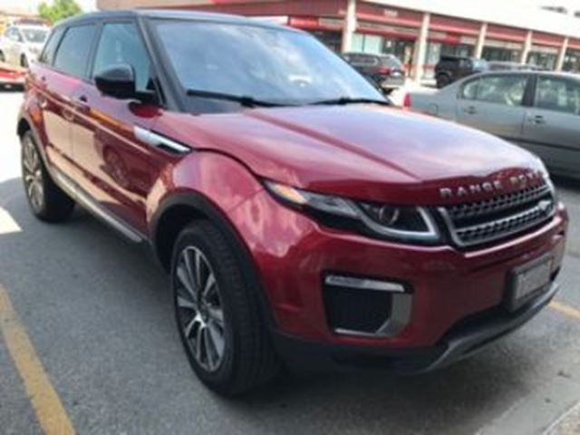 2017 LAND ROVER RANGE ROVER EVOQUE HSE ~LOADED~ in Mississauga, Ontario