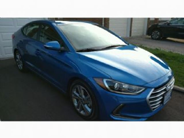 2017 HYUNDAI ELANTRA 4dr Sdn Auto GLS/ JULY AVAILABILITY in Mississauga, Ontario