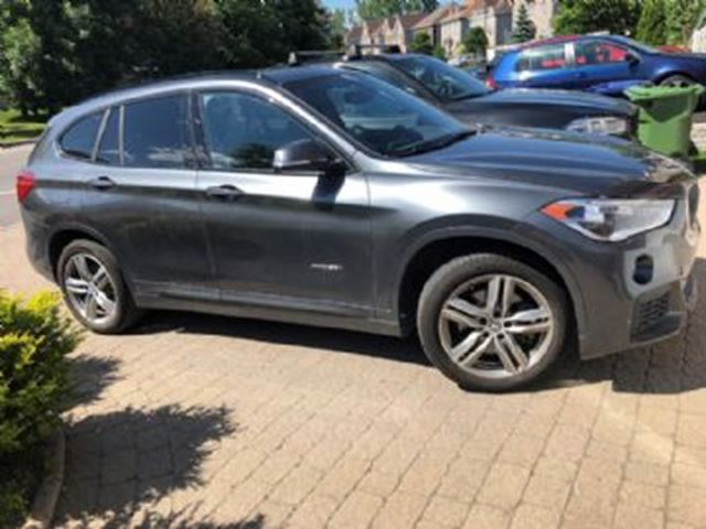 2018 BMW X1 28I X Drive PREMIUM ET M SPORT PACKAGE in Mississauga, Ontario