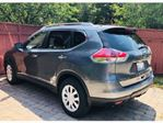 2015 Nissan Rogue FWD S w/leather seats ~ LOW KM's in Mississauga, Ontario