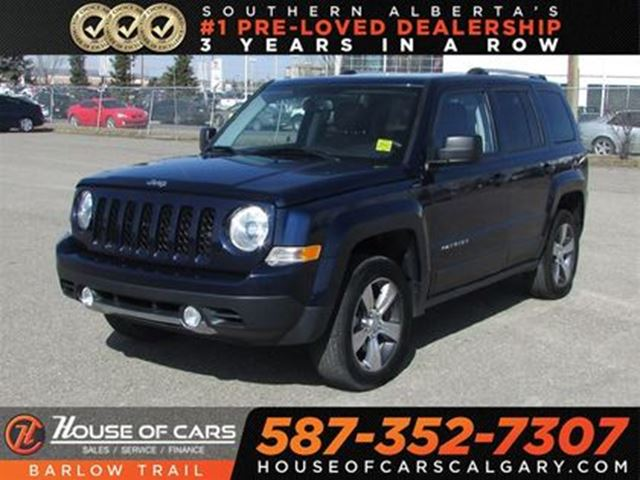 2016 JEEP PATRIOT High Altitude / Leahter / Sunroof in Calgary, Alberta