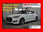 2013 Hyundai Veloster TURBO *Navi/GPS, Cuir, Toit pano. in Saint-Jerome, Quebec