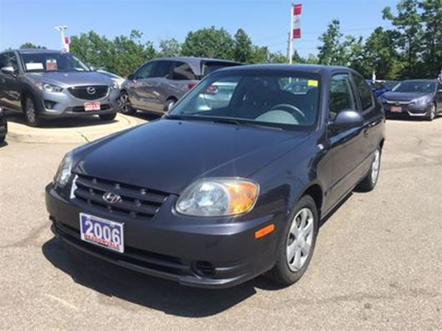 2006 HYUNDAI Accent GS l LOW PRICE FOR LOW KMS in Mississauga, Ontario