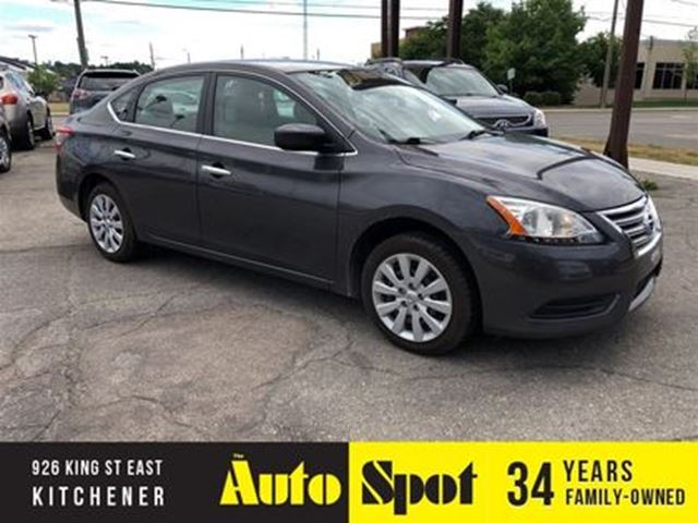 2013 NISSAN SENTRA S in Kitchener, Ontario