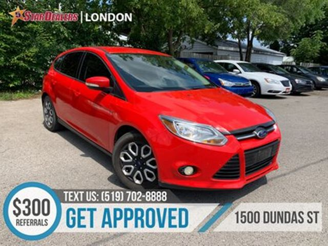 2013 FORD FOCUS SE   CA RLOANS APPROVED   APPLY TODAY in London, Ontario