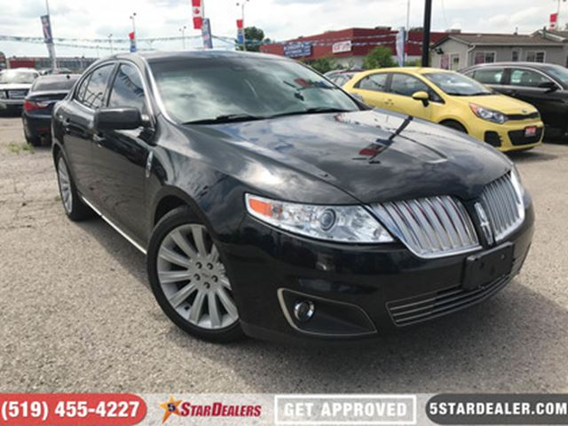 2011 LINCOLN MKS NAV   LEATHER   CAM   ROOF   AWD in London, Ontario