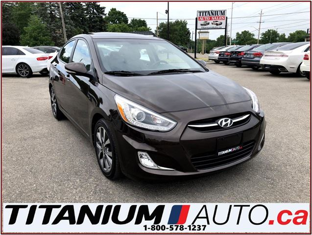 2016 HYUNDAI Accent GLS+Automatic+Sunroof+BlueTooth+Heated Seats+XM+++ in London, Ontario