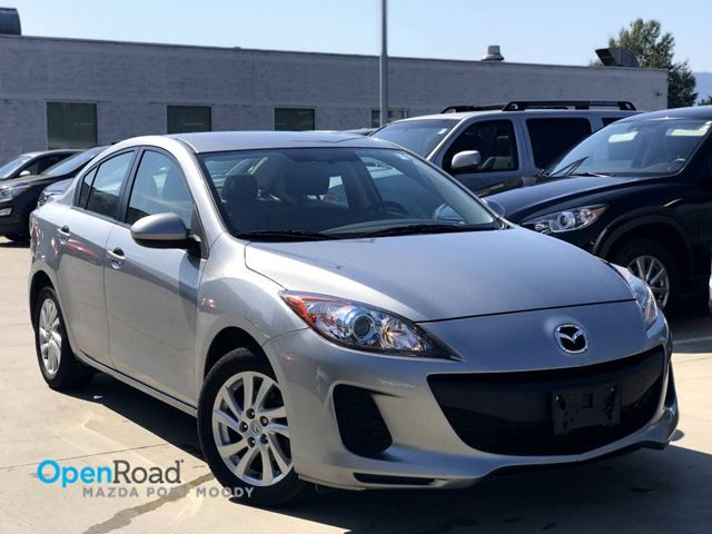 2012 MAZDA MAZDA3 GS-SKY Sdn A/T No Accident Local One Owner Blue in Port Moody, British Columbia